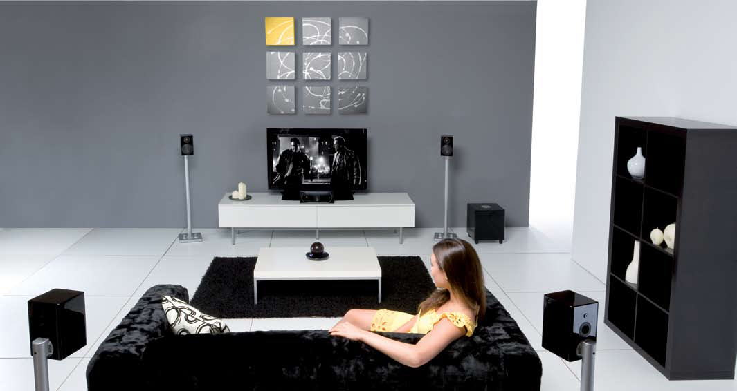 Surround System Optimized Sound Bar Installation In High Rise Condo Fully Concealed Tv