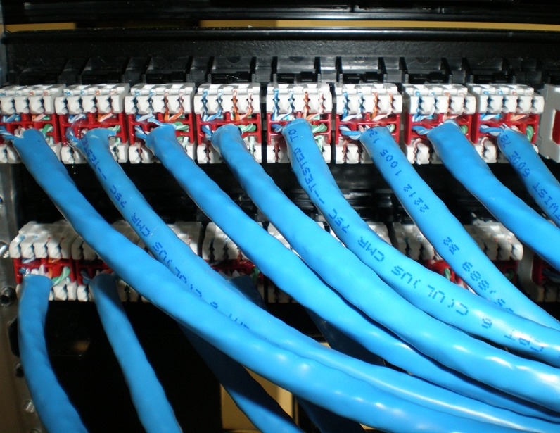 cable & cat6 termination and patch panel installation service toronto |  leslievillegeek tv installation - home theatre - cabling & wiring