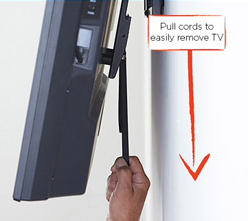 How To Take A Tv Off A Wall Mount Leslievillegeek Tv Installation