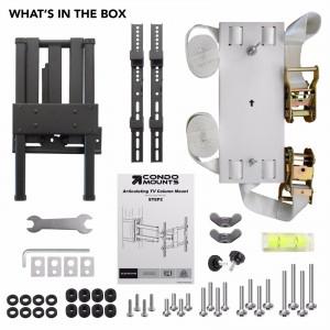 Unboxing Condomounts pillar tv mount