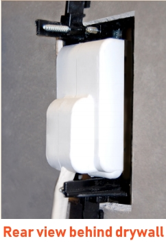 In wall cable management kit for condos extension ford for tv wall mount
