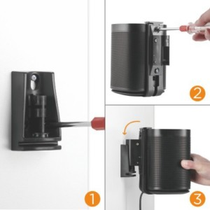 Sonos one wall mounting kit buy from Condomounts