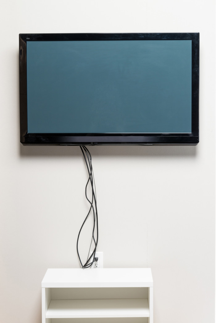 Tv mount with wire concealing kit