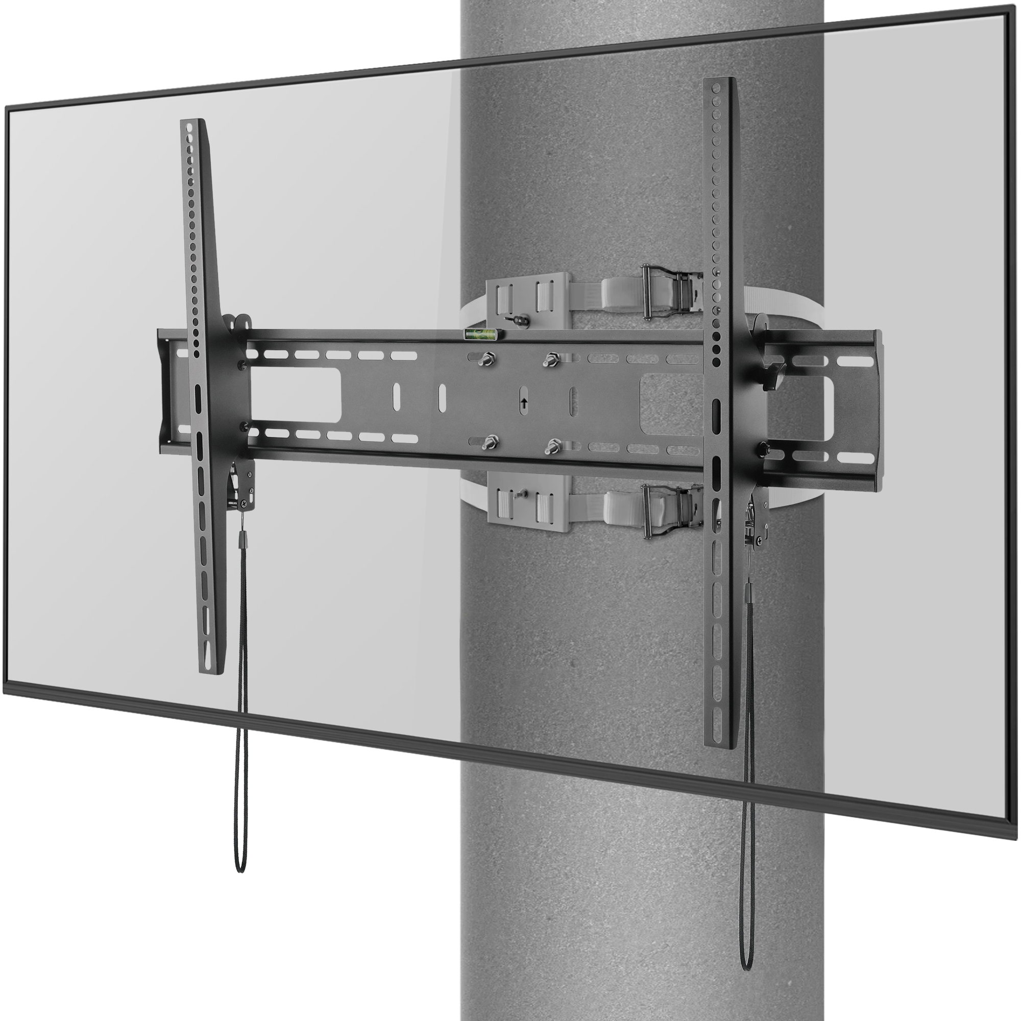 Strapping Column TV Mount for pillars