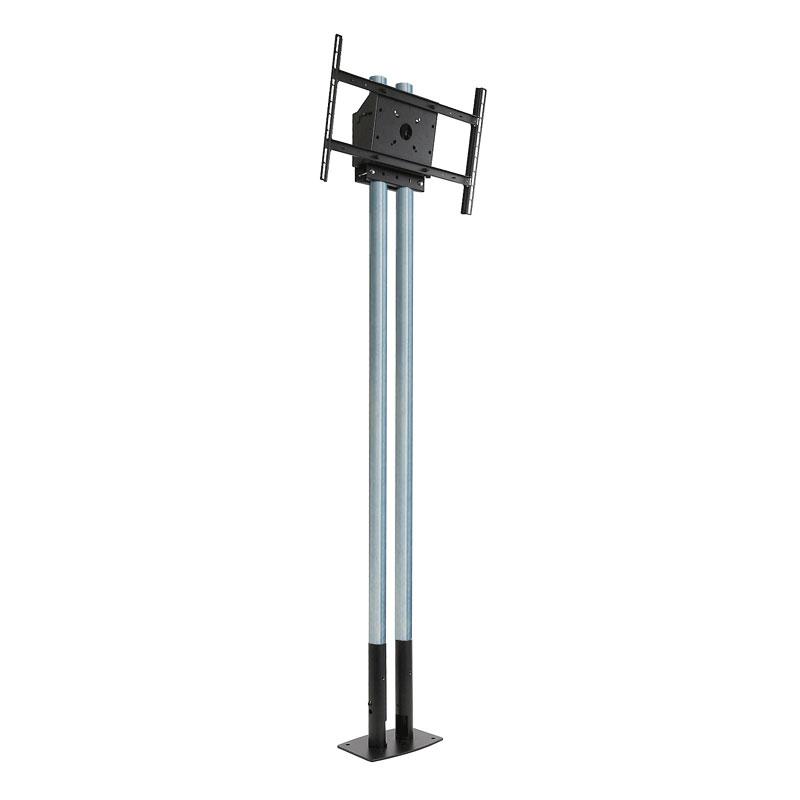 Peerless Modular Series Dual Pole Pedestal Kit (Zinc) MOD-FPP2KIT200 canada