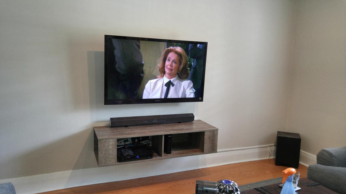 Fully Concealed Tv Installation Leslievillegeek Tv
