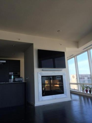 TV Wall Mounting Above Fireplace