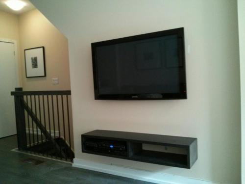 TV Wall Mounting with In-Wall Cord Concealing