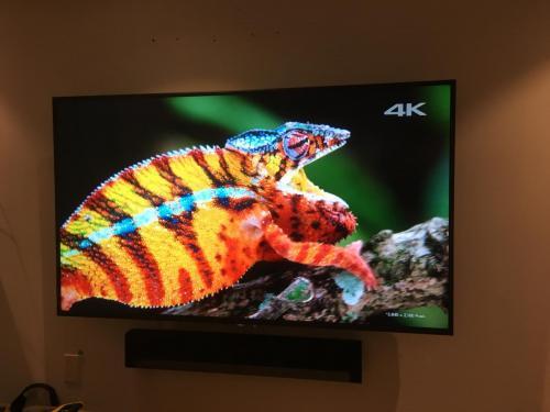 TV Wall Mounting with Soundbar Installation
